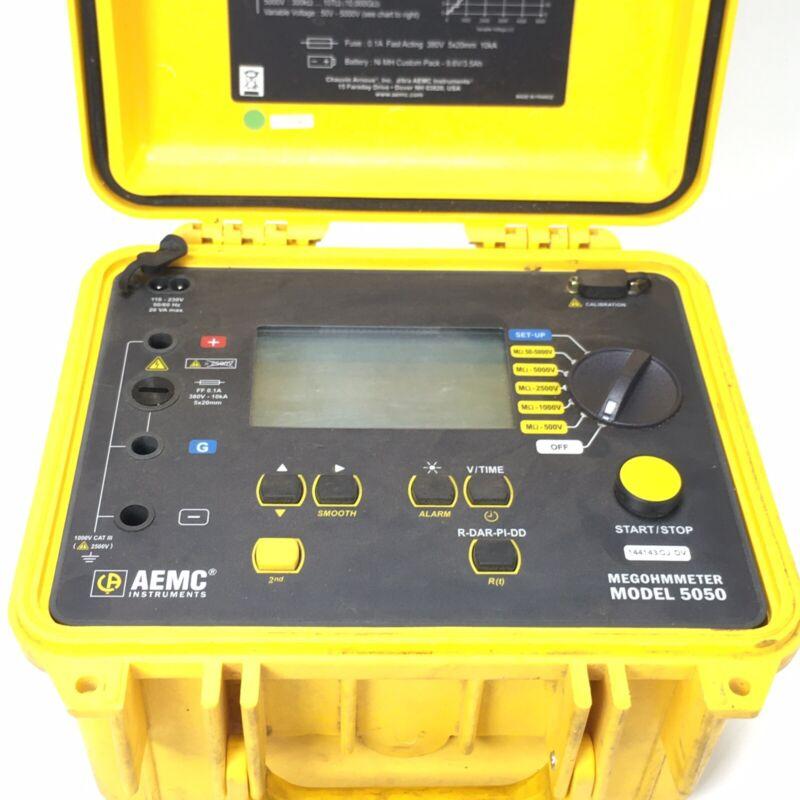 AEMC Instruments Megger 5KV Megohmmeter Model 5050