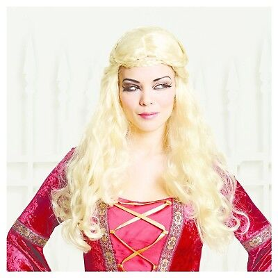 Hyde & Eek Women's Medevil Queen Dress Up Costume Adult Halloween Sizes S M L (Medevil Dresses)