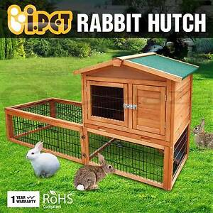 Rabbit Hutch Chicken Coop Guinea Pig Ferret Cage 2 Storey House Perth Perth City Area Preview
