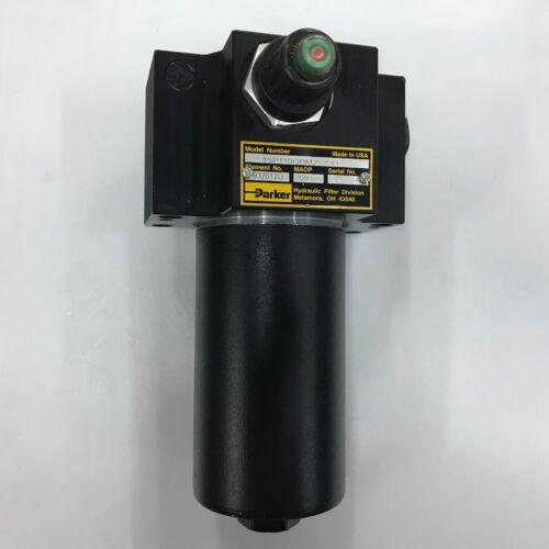 PARKER High Pressure Hydraulic Filter 15P110QBM2SKX1 3000 psi w Element PR3444Q