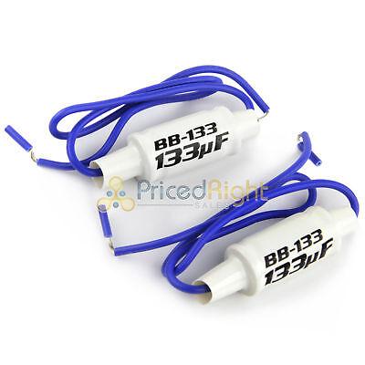 Pair Of BB133 Audiopipe In Line Noise Filter Speaker Bass Blocker 4 OHM Blockers