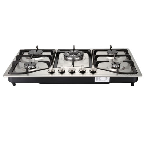 Stainless Built-in 5 LPG/NG Gas Hob Cooktops COOK TOP