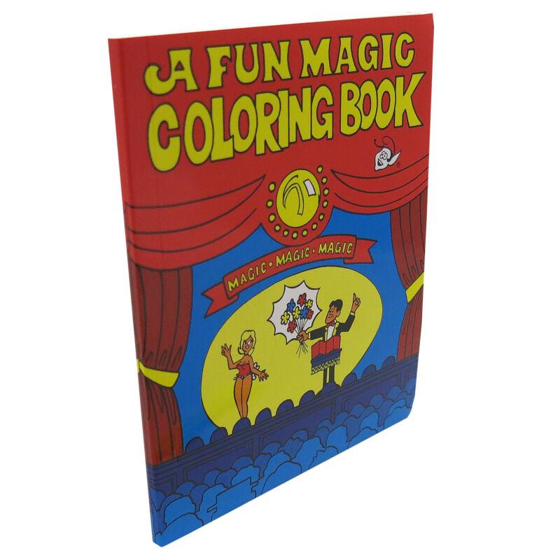 Mini FUN Magic Coloring Book Trick 5.5 by 4.25 Inches