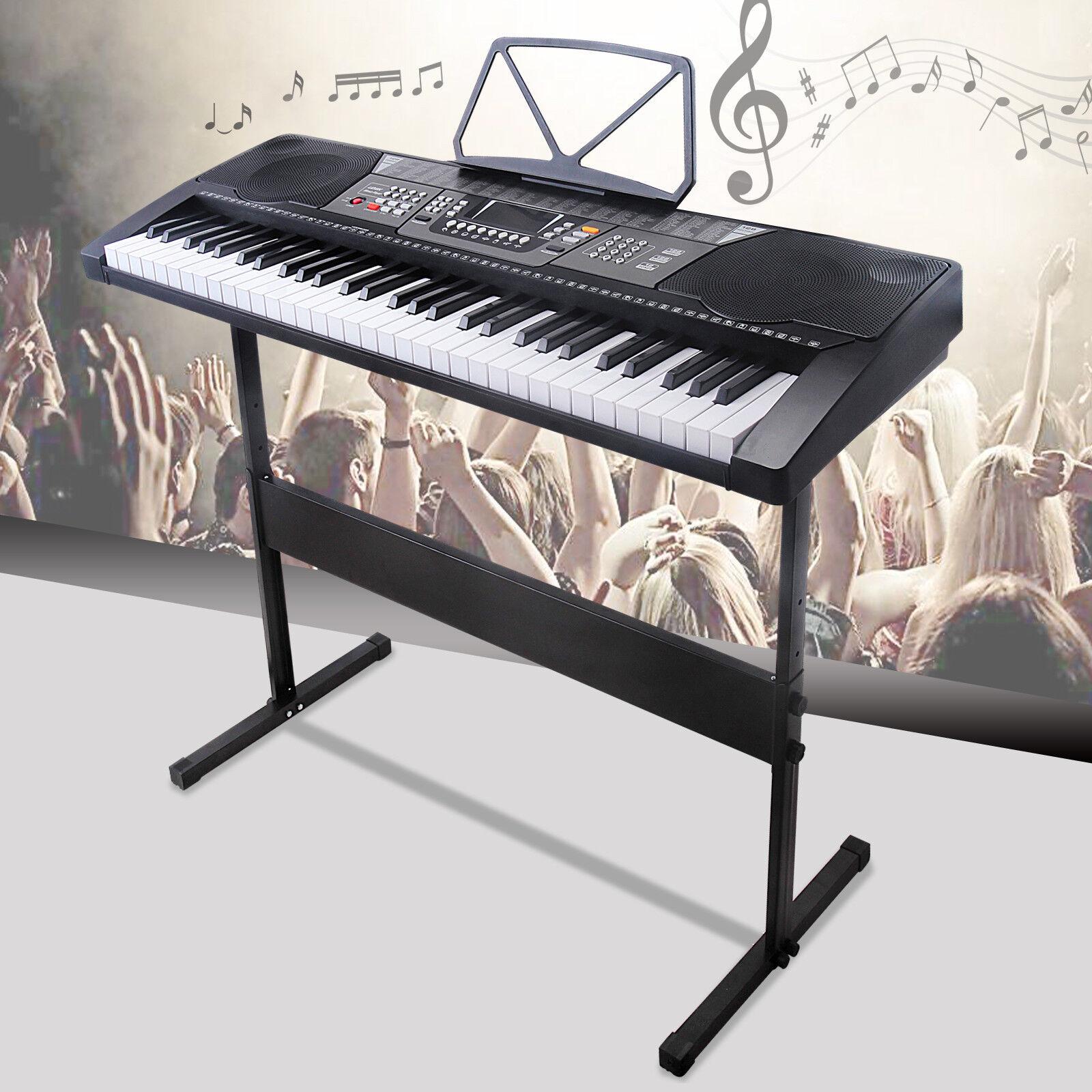 Electronic Piano Or Keyboard : 61 key music electronic keyboard electric digital piano organ portable w stand 699979709115 ebay ~ Hamham.info Haus und Dekorationen
