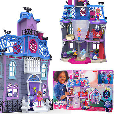 - VAMPIRINA SCARE B&B PLAYSET Girls Play House Toy Dollhouse Kids Fun Game Gift