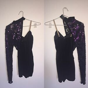 Single Sleeved Sparkly Jazz Costume for Hire Subiaco Subiaco Area Preview