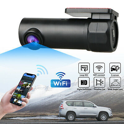 Wifi HD Car Dashboard DVR Camera Video Recorder Dash Cam G-Sensor W/Night Vision