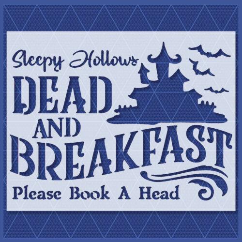 Sleepy Hollow Stencil - Mylar Reusable&Durable - Template - Halloween Farm