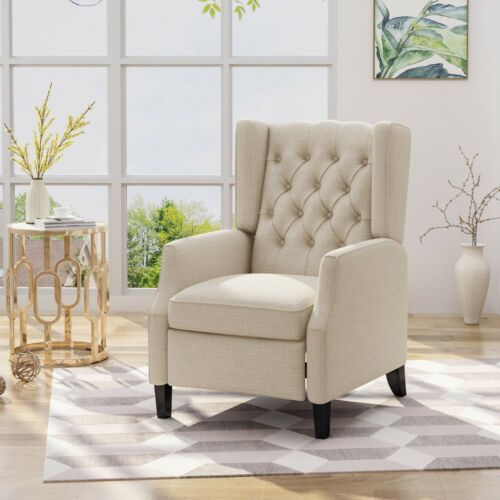 Diana Traditional Wingback Recliner Chairs