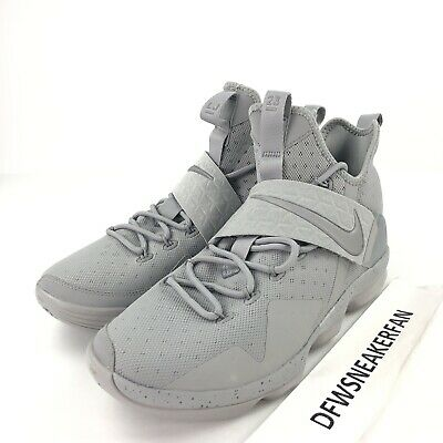 66f6fe0c32b0 Nike Lebron James 14 XIV Men s 11 Reflect Silver Basketball Shoes 852405  007 New