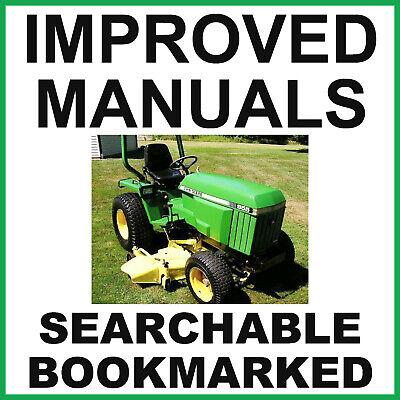 John Deere 655 755 855 955 756 856 Tractors Service Manual Shop -2- Manuals Cd