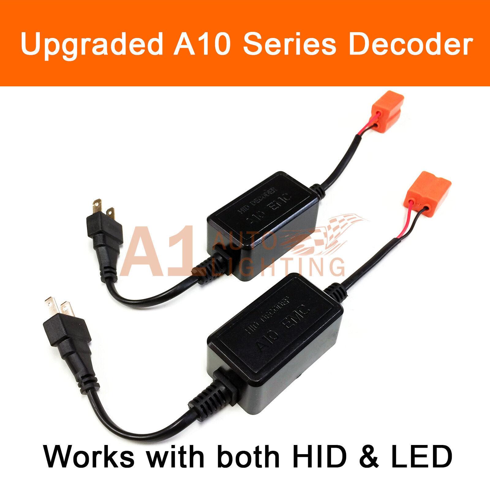 2x A10 Emc H7 Fog Light Canbus Led Decoder Load Resistor Hid Warning Wiring Diagram Canceller