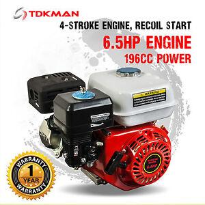 6.5HP Petrol Stationary Engine Motor 4-Stroke OHV Horizontal Shaft 5.5HP Replace