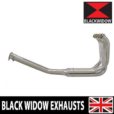 KAWASAKI ZXR400 ZXR 400 EXHAUST PIPES HEADERS MANIFOLD DOWN PIPES FRONT PIPES