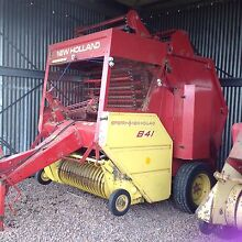 Round Baler Waubra Pyrenees Area Preview
