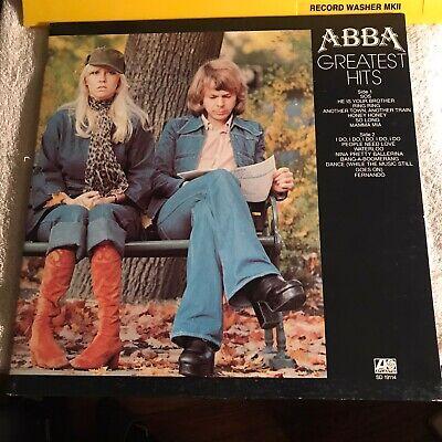 ABBA~Greatest Hits LP~75 ATLANTIC~SD 19114~PLAYS EX~PRESSWELL PRESSING~VG+/VG+
