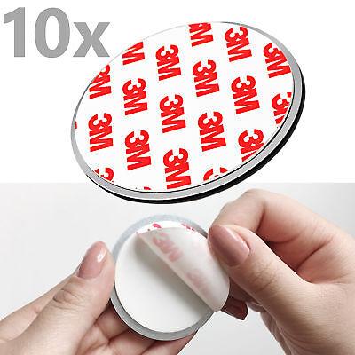10x NEMAXX Magnethalter Klebehalter Magnet-Halterung Befestigung für Rauchmelder