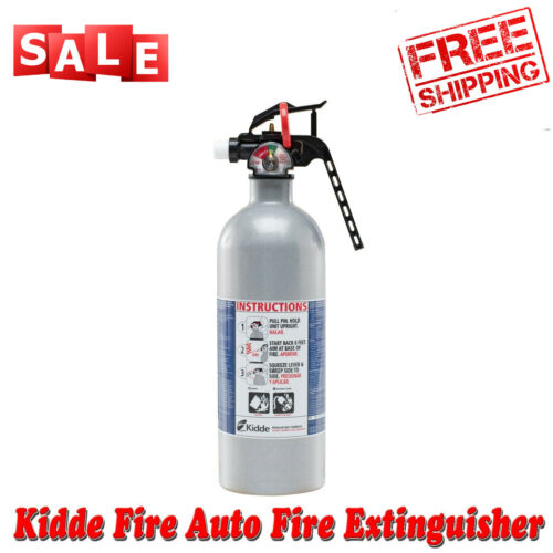 Auto Fire Extinguisher Safety 5-B:C Rated Disposable Emergency Car Truck Vehicle