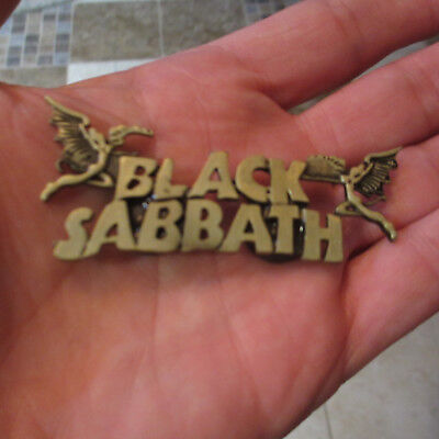 "BLACK SABBATH Heaven & Hell Logo 3""w Fridge Magnet; Heavy Metal; Nice Quality"