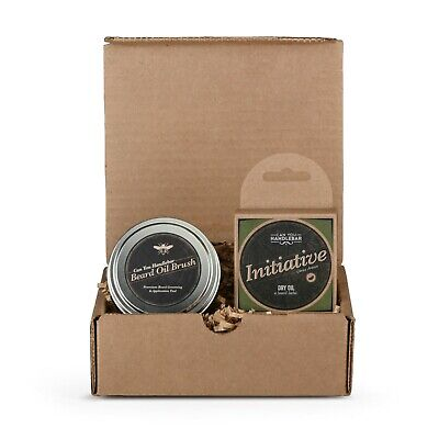 CanYouHandlebar Basic Beard Care Kit : Initiative Beard Dry