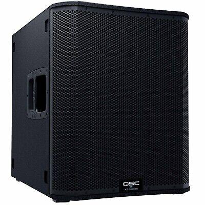 """QSC KS118 18"""" 3600 Watt Active Powered DJ PA Club Subwoofer Sub Speaker"""