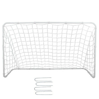 6x4 FT Portable Youth Size Strong Steel Frame Soccer Goal Football w/Durable -
