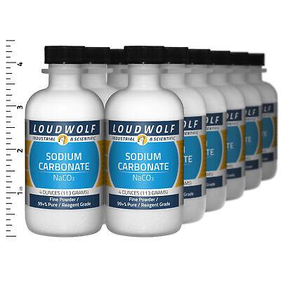 Sodium Carbonate 3 Lb Total 12 Bottles Reagent Grade Fine Powder Usa Seller