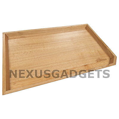 Mira Maple Wood Rectangular Wooden Serving Tray Corner Cut Small (PACK OF 12) - Small Wood Tray