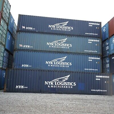40 Ft Std 86 H Shipping Container