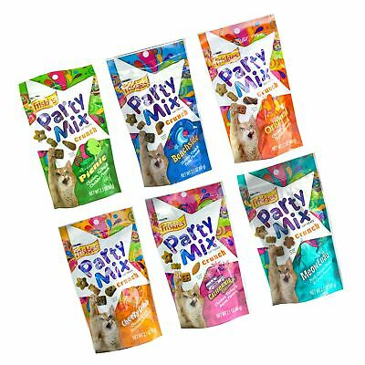 Friskies Party Mix Crunch Variety Pack 6 Fun Flavors 2.1 Oz Each - Picnic, ... - $41.99