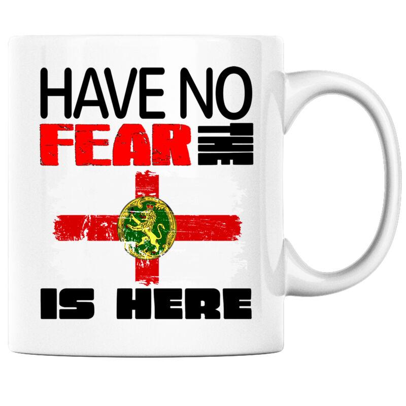 Have No Fear the Alderney is Here Funny Coffee Mug Alderney Heritage Pride