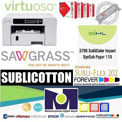 Sawgrass Virtuoso Printer SG400 HD Sublimation System SUPER COMBO offer A++++