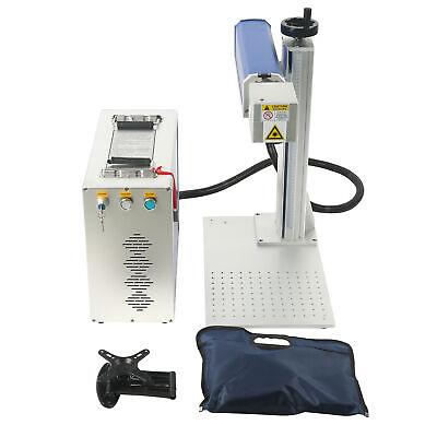 20w Desktop Fda 150 X 150 Mm Fiber Laser Engraving Machine For Metal Non-metal