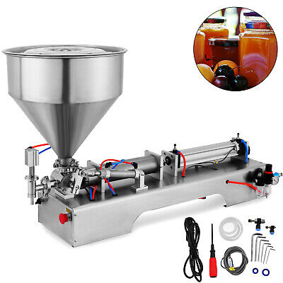 100-1000ml Liquid Filling Filler Machine Pneumatic Paste Oil Fluid Viscosity