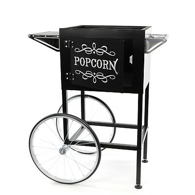 Paramount Popcorn Machine Cart / Trolley Section - [Black]