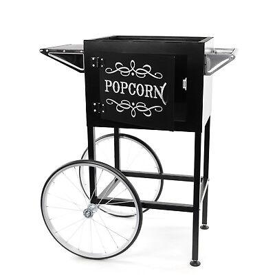 Paramount Popcorn Machine Cart Trolley Section - Black