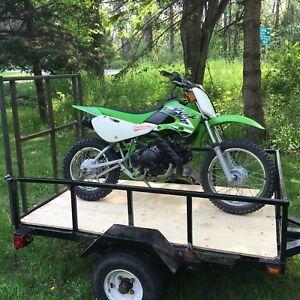 Custom made utility trailer