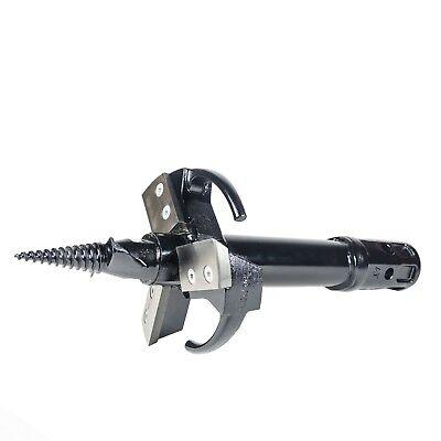 Stump Planer Auger For Your Skid Steer Auger 10 Diameter 25 L2 Hex Coupler