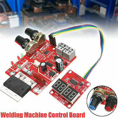 Spot Welder Time Control Board 100a Updating Current With Display Digital