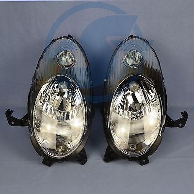 2x Scheinwerfer Nissan Micra K12 chrom links + rechts Set 03-05 NEU online kaufen