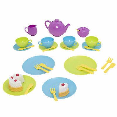 Spielzeug Geschirr Set für Kinder Teegeschirr Kindergeschirr Kinderküche Kanne