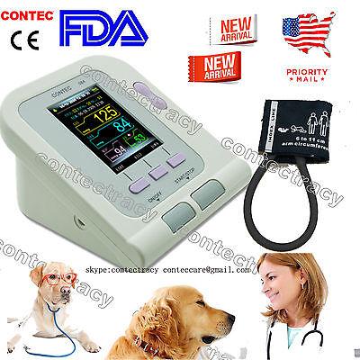 Us Ship Veterinary Vet Digital Blood Pressure Monitor Heart Beat Monitor Prsw