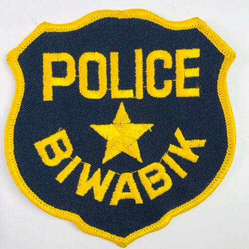 Biwabik Police Minnesota MN Patch (A3)