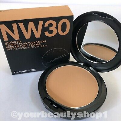 New MAC Studio Fix Powder Plus Foundation NW30 100% Authentic Nw30 Mac