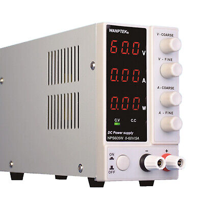 Mini Lab Bench Switching Regulated Power Supply Dc Power Supply Variable 60v5a