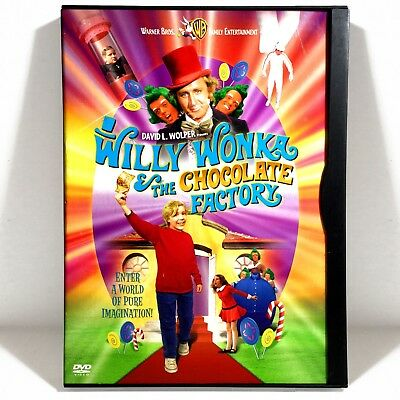 Willy Wonka and the Chocolate Factory (DVD, 1971, 30th Anniv. Ed) Gene (Willy Wonka And The Chocolate Factory Gene Wilder)