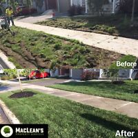 Sodding, Weed Removal and Installation and More