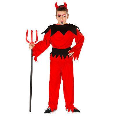 Jungenkostüm Teufelchen Kostüm Halloween Karneval Fasching Jungen Teufel - Teufel Kind