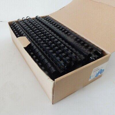 Officemax 12 Black Plastic Binding Combs 100bx