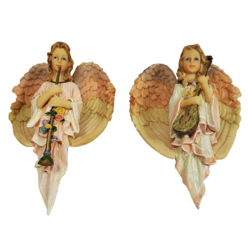 House of Lloyd Christmas Around the World Harmony Angel Ornament Lot of 2 IOB
